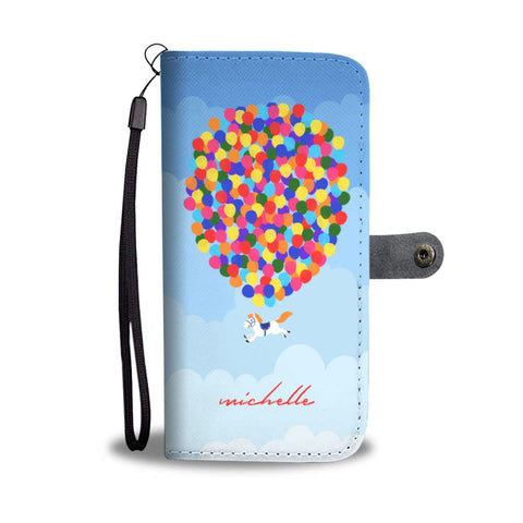 Michelle Wallet Case - Customizable Text - Kickcap