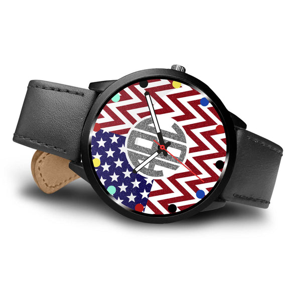 Patriotic Personalized Monogram Watch - Limited Edition - Kickcap
