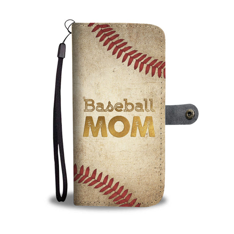Baseball Mom Wallet Case - Kickcap