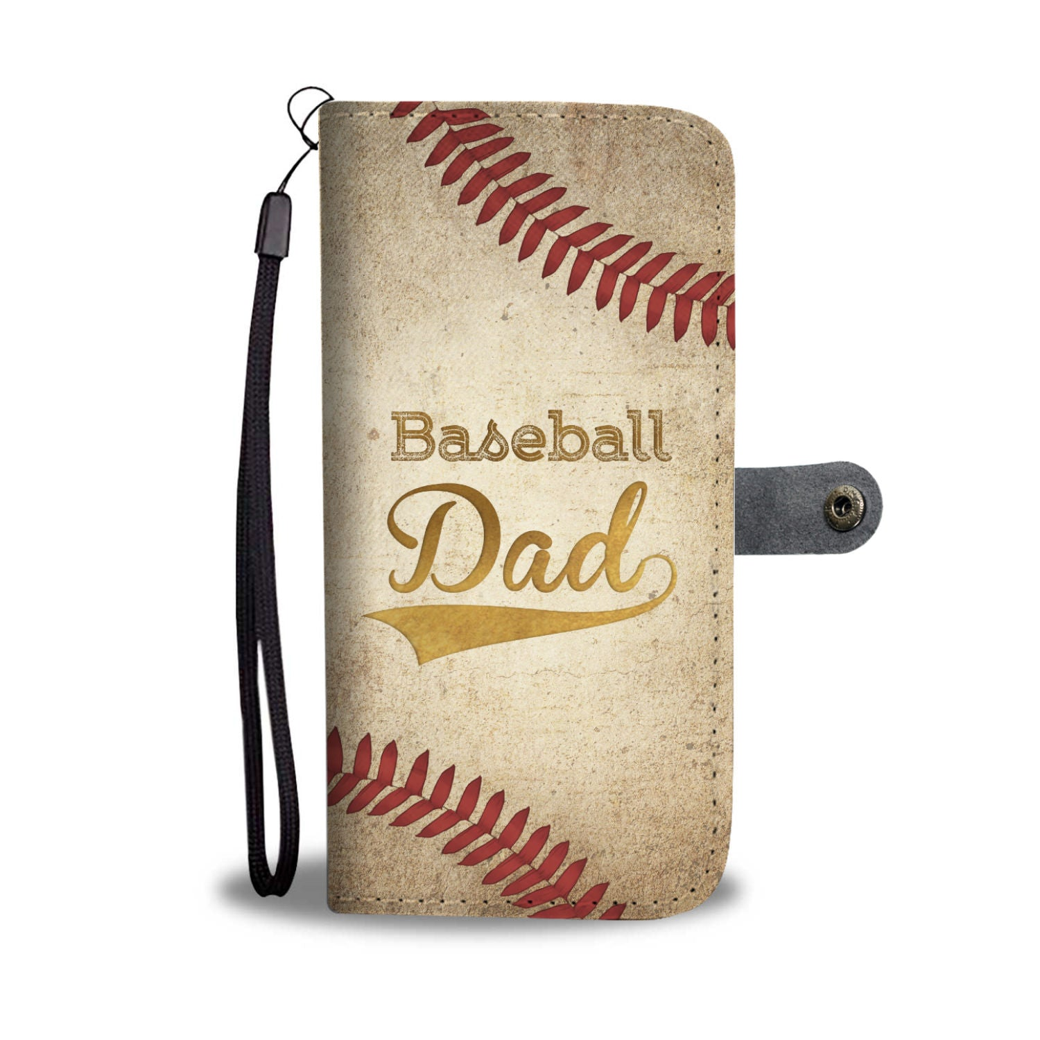 Baseball Dad Wallet Case - Kickcap