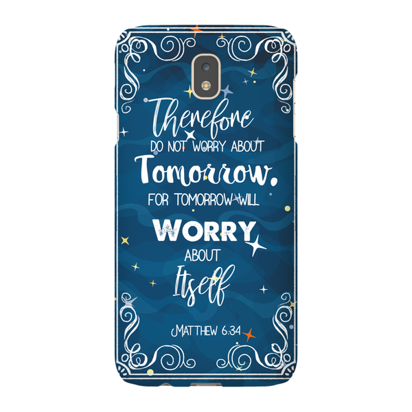 Christian Phone Cases - Matthew 6:34 - Kickcap