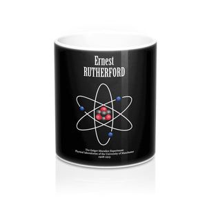 Ernest Rutherford Atomic Model Mug - Kickcap