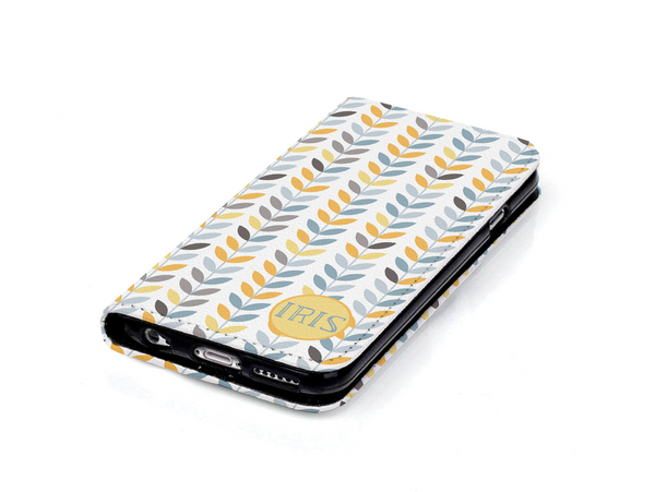 Iris Wallet Case - Customizable Text - Kickcap