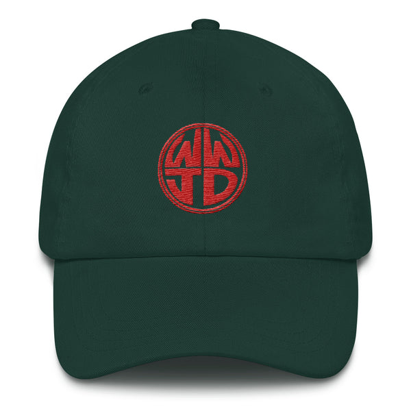 WWJD Dad Hat - Kickcap