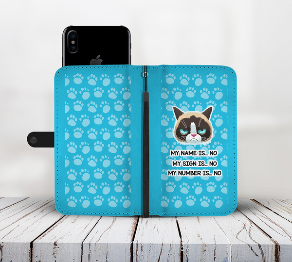 Awesome Grumpy Cat Wallet - Kickcap
