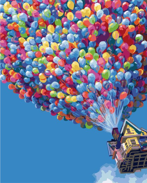 """UP"" Inspired Poster"