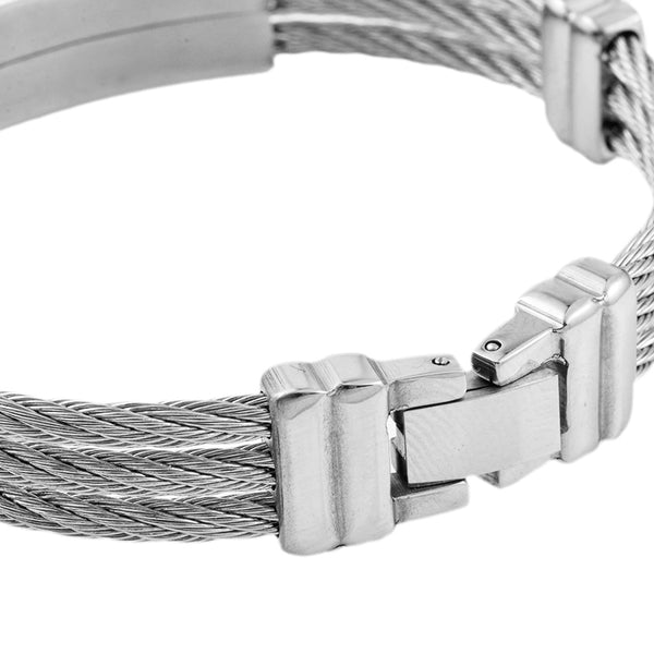Stainless Steel Cross Bracelet - Kickcap