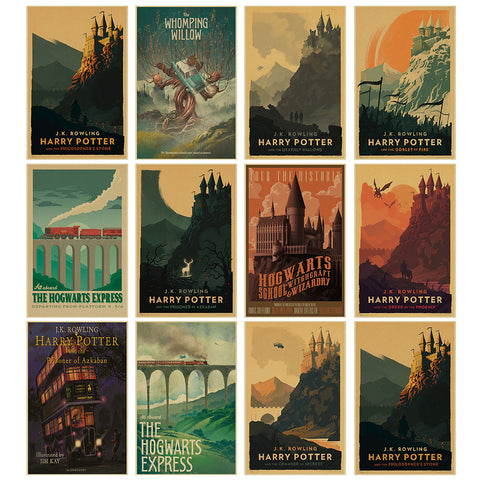 Harry Potter Hogwarts Express Posters - Kickcap