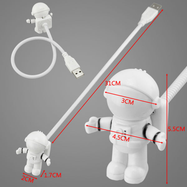 Astronaut Laptop Light Lamp USB Port - Kickcap