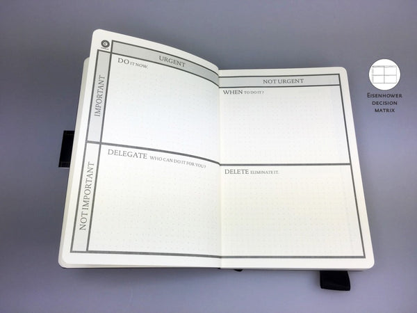 Hard Cover Dotted Bullet Journal - Kickcap