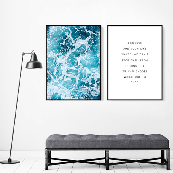 Wall Art Canvas Painting Wall Decor - Kickcap