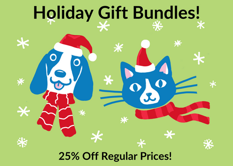 because animals holiday gift bundles