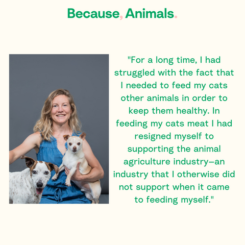 Shannon Falconer CEO Because Animals