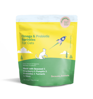 Omega & Probiotic Sprinkles for Cats