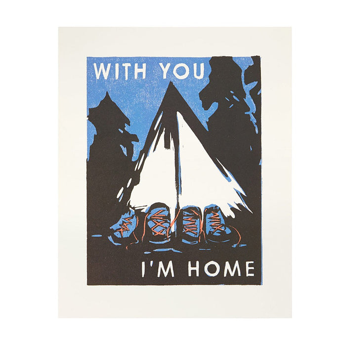 With You I'm Home Poster