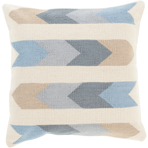 Cotton Kilim Pillow, Cream