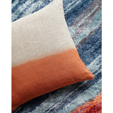 Dip Dyed Pillow, Burnt Orange