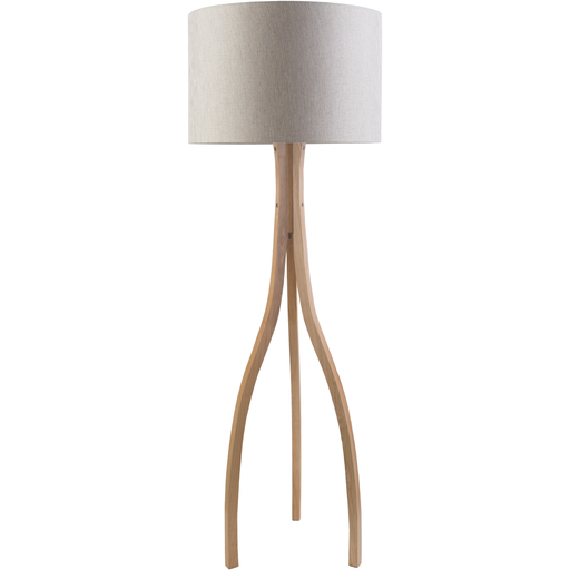 Duxbury Lamp, Gray Shade