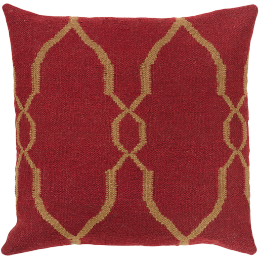 Fallon Pillow, Dark Red