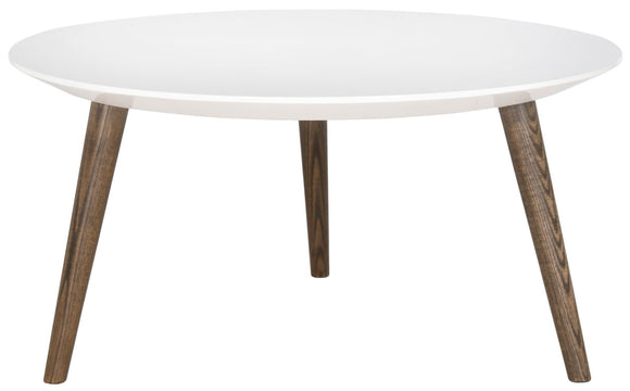 Josiah Mid Century Round Accent Table