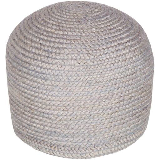 Tropics Pouf, Medium Gray