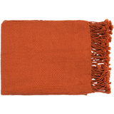 Turner Throw, Burnt Orange