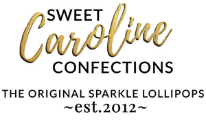 Sweet Caroline Confections | The Original Sparkle Lollipops