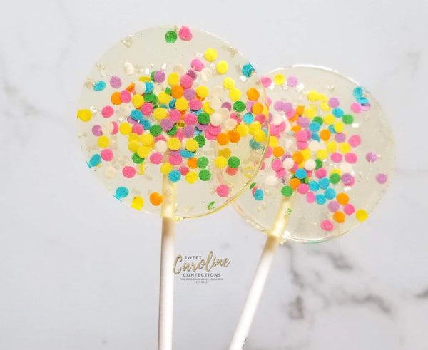 Celebration Sparkle Lollipops - Set of 6