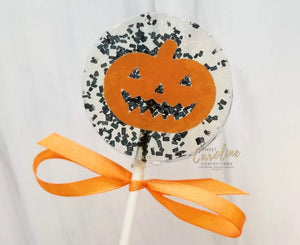 Pumpkin Lollipops - Set of 6