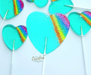 rainbow lollipop