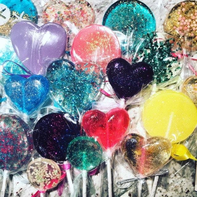 Variety Set - Set of 10 - Sweet Caroline Confections | The Original Sparkle Lollipops