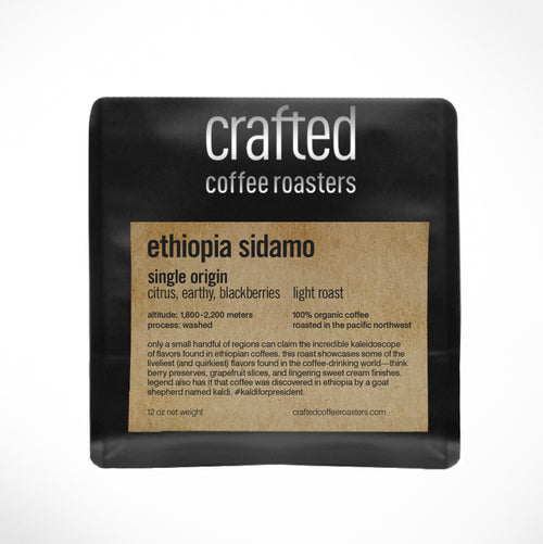 ethiopia sidamo – light roast
