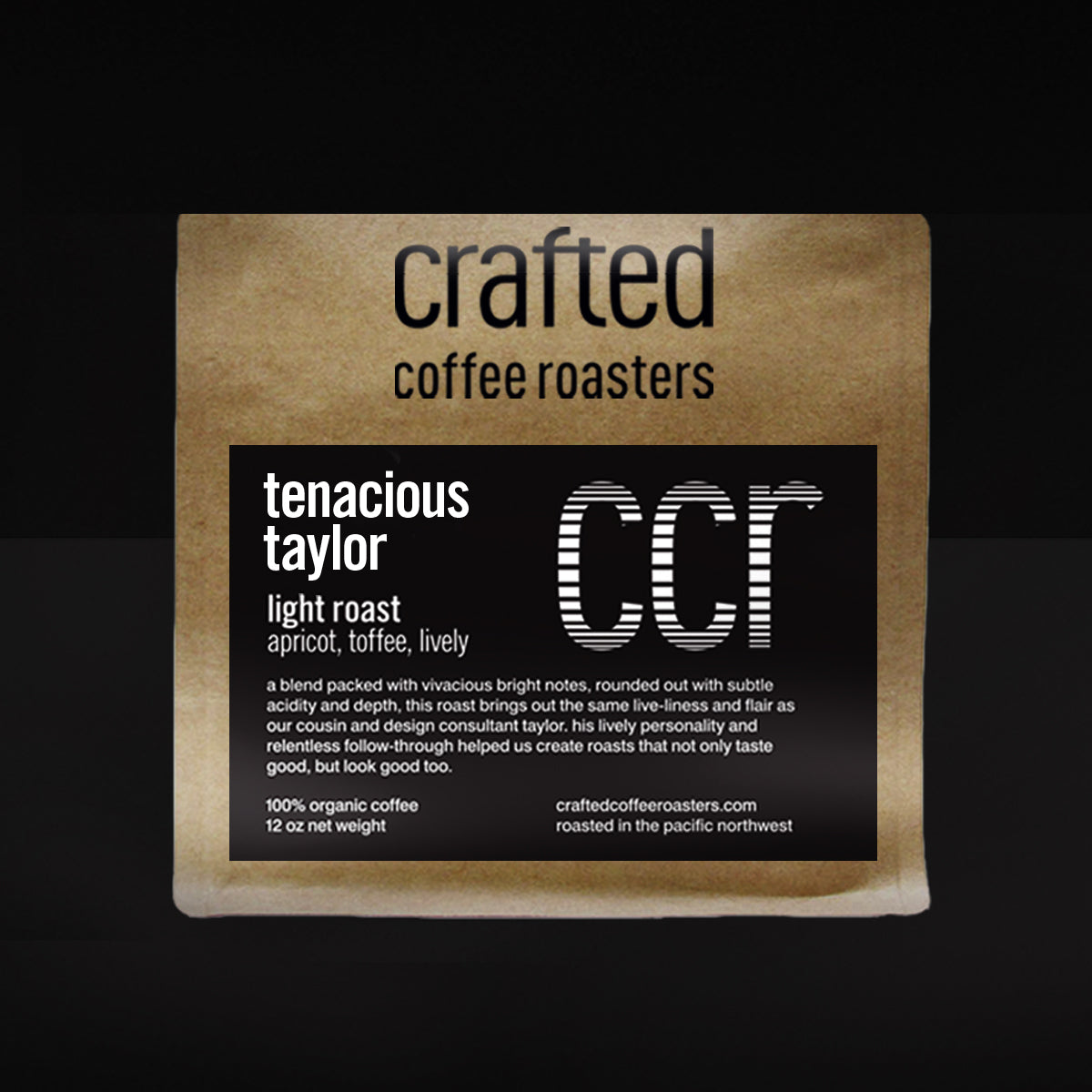 tenacious taylor – light roast