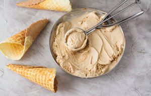 Creamy Coconut Chai Vegan Ice Cream