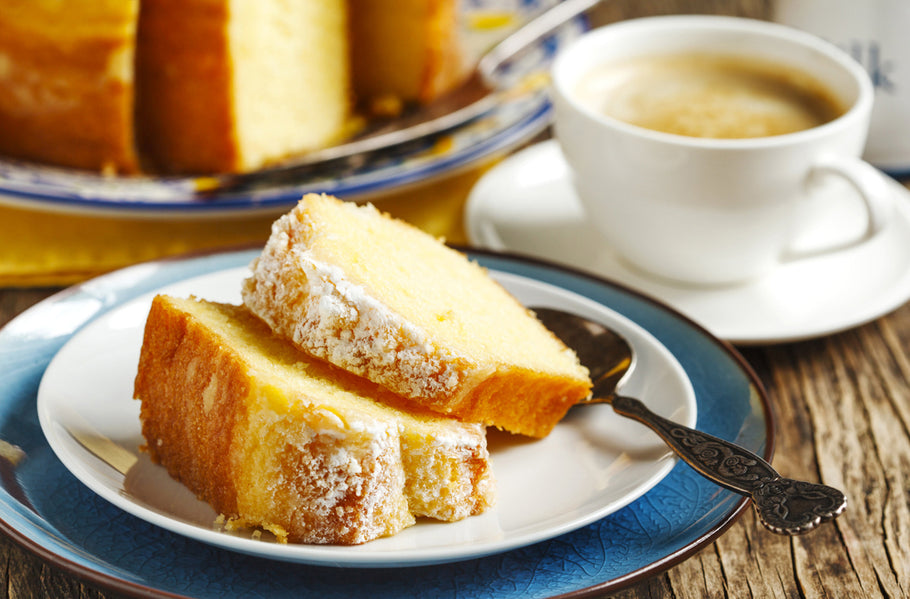 Lemon Ricotta Flourless Cake