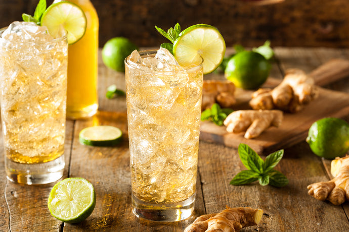 Iced Ginger Green Tea