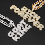 Custom Bubble Letters Necklace