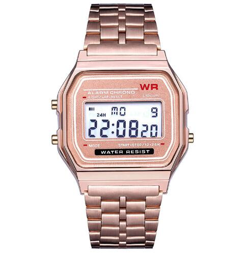 Rose Gold Gold Silver Watches