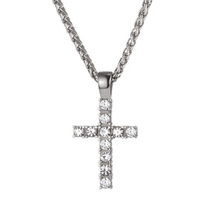 Iced Out Latin Cross