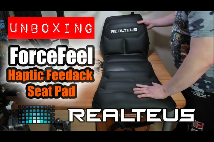Realteus ForceFeel YouTube Review: Haptic Feedback Gaming Seat Pad