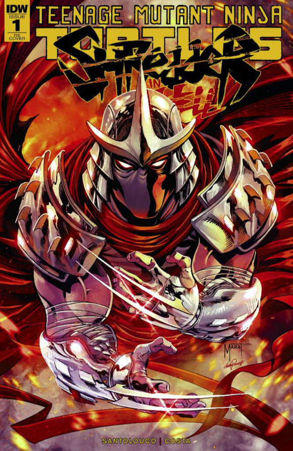 TMNT: Shredder in Hell #1 Marat Mychaels Exclusive Variant