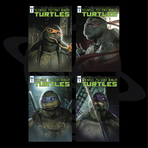 Teenage Mutant Ninja Turtles #1 Bosslogic SDCC 2018 Variants