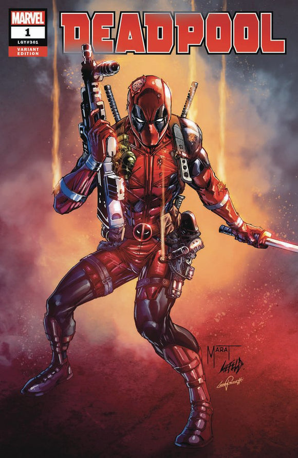 Dead-Pool #1 Marat Mychaels Convention Exclusive Variant
