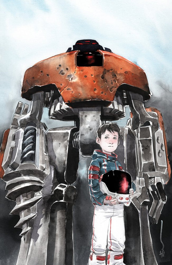 Descender #26 Dustin Nguyen Virgin Exclusive Variant