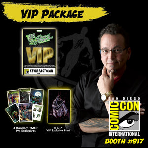 Kevin Eastman VIP Package (SDCC 2019)