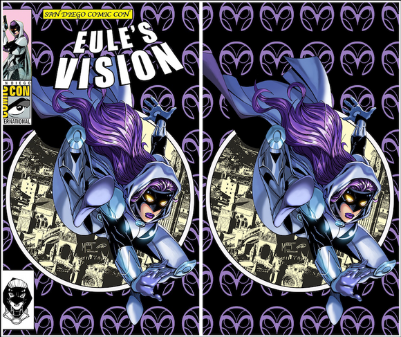 Eule's Vision #1 Marat Mychaels SDCC 2019 Variants (Available at SDCC 2019 Booth #817)