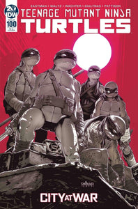Teenage Mutant Ninja Turtles #100 1:10 Mateus Santolouco Variant