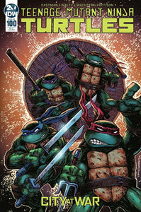 Teenage Mutant Ninja Turtles #100 1:50 Kevin Eastman & Peter Laird Variant