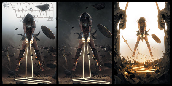 Wonder Woman #750 Bosslogic SET (Cover A, B, & C)