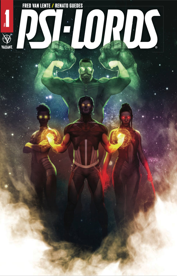 Psi-Lords #1 Bosslogic SDCC 2019 Variant